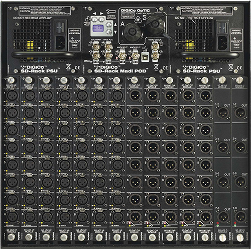 DiGiCo SD Rack