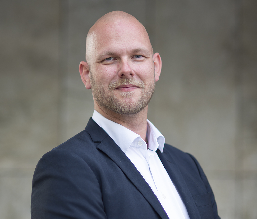 Johan Bertilsson, A.C. Entertainment Technologies representant i Sverige.