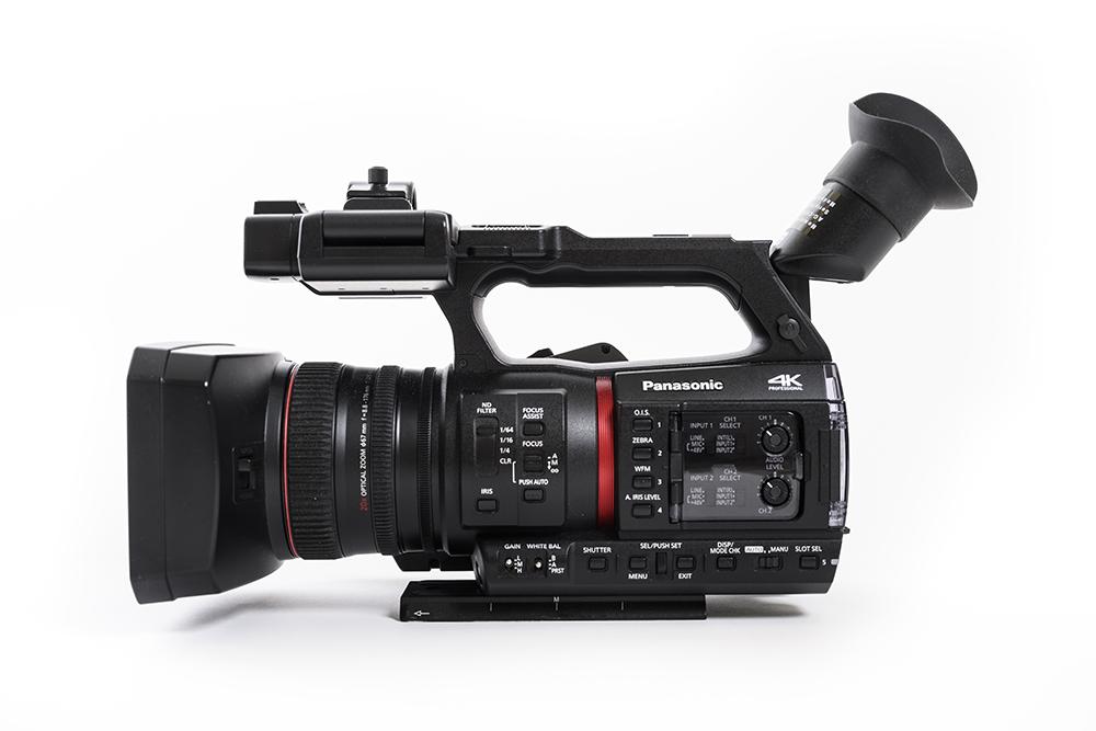 Panasonic AG-CX350 / Foto: Jonas Nimmersjö
