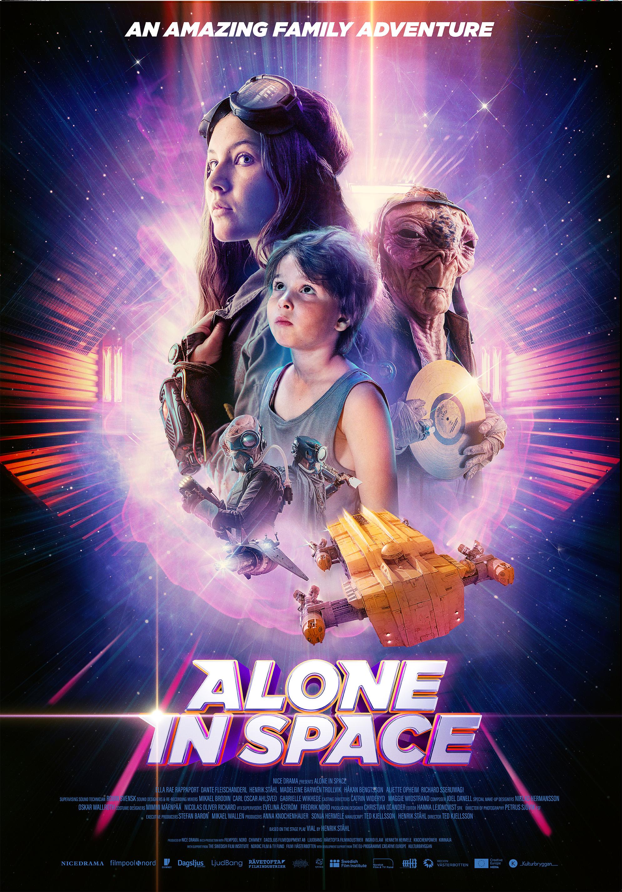 Ett av Micke Brodins favorituppdrag var  Ensamma i rymden  som SVT sände i september 2018. Vår första rymdfilm, konstaterar han nöjt! En sci-fi för vuxna – men som handlar om två barn i rymden och en rymdvarelse.