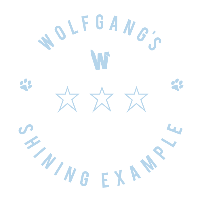 Wolfgang's Shining Example - 3 sessions - £225 (save £15)You may be an experienced dog owner and simply need help to put some basics into place or you may have had your pup for a little while and just need to tackle some specific subjects; then the Shining Example package is the one for you.I will go through the basics with you to assess what's covered and what needs to be addressed and, depending on any additional requirements, will draft a personalised programme for you.