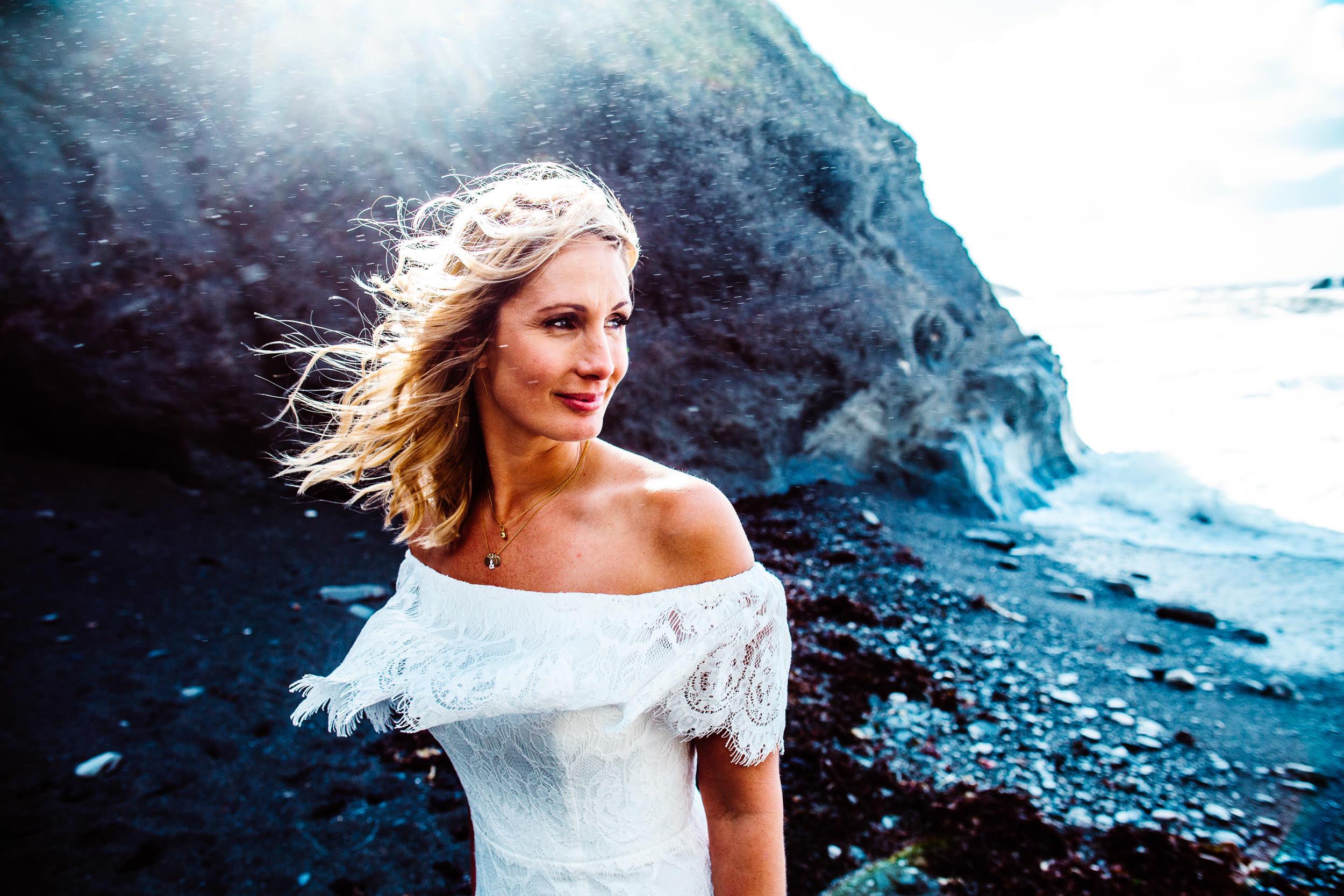 Tunnels Beaches Wedding - Devon - E+J