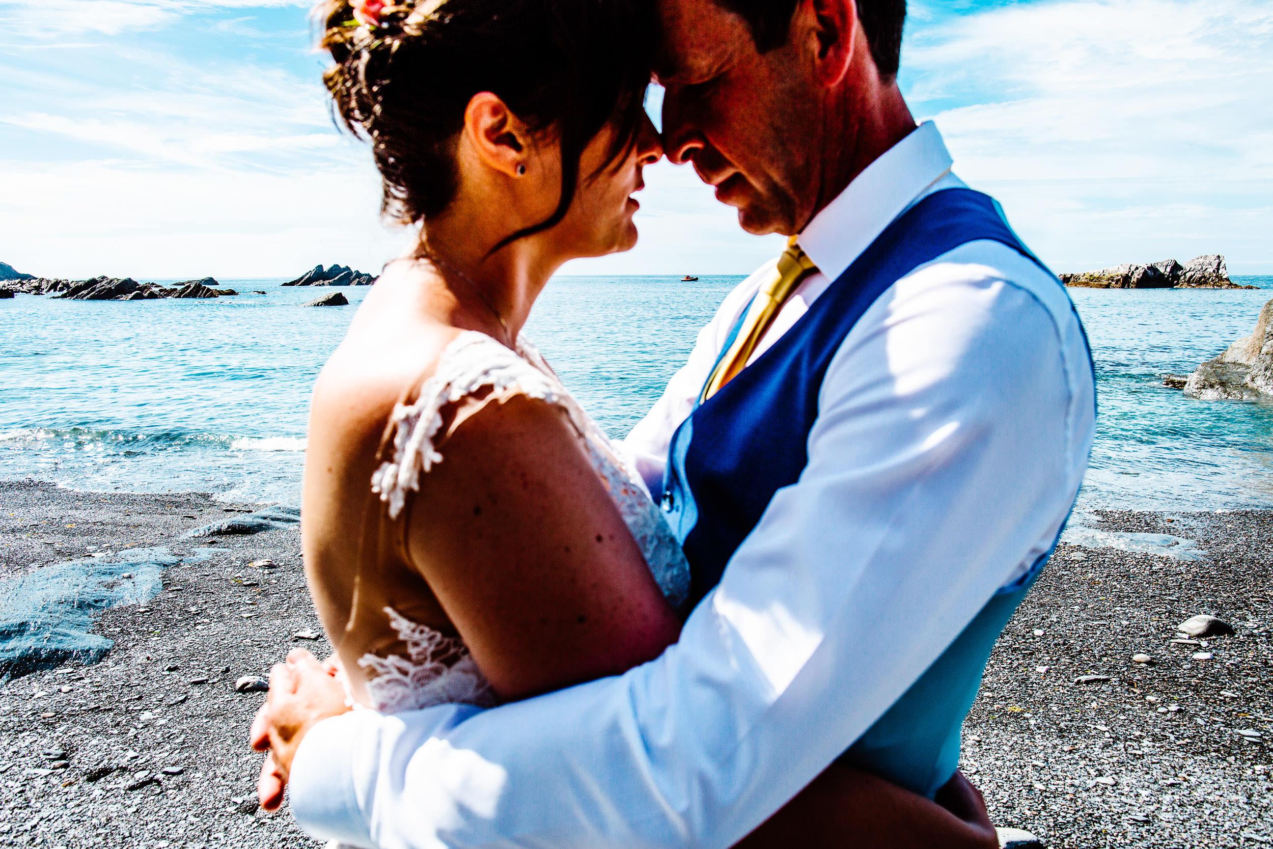 Tunnels Beaches Wedding - Devon - S+K