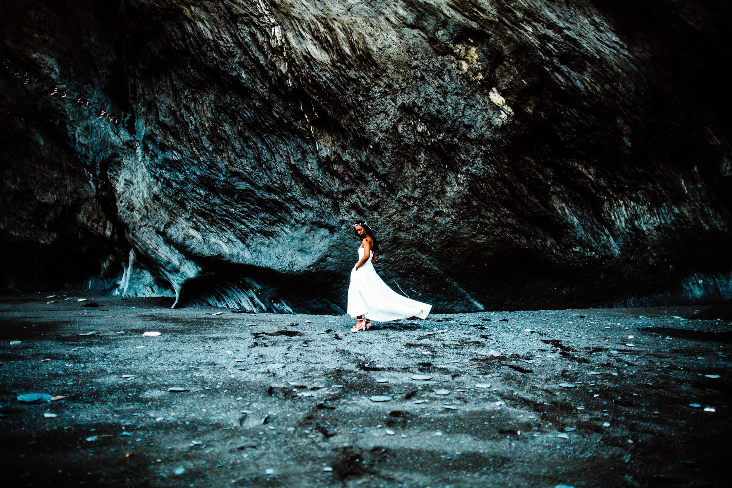 Tunnels Beaches Wedding - Devon - N+A