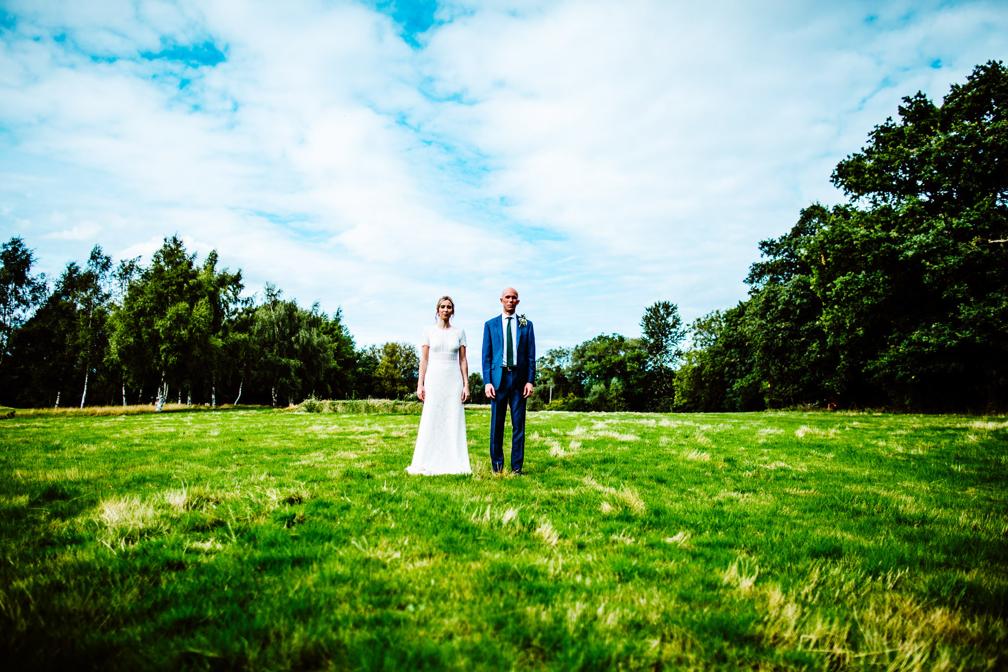 Oak Tree Peover Wedding - Cheshire - A+R