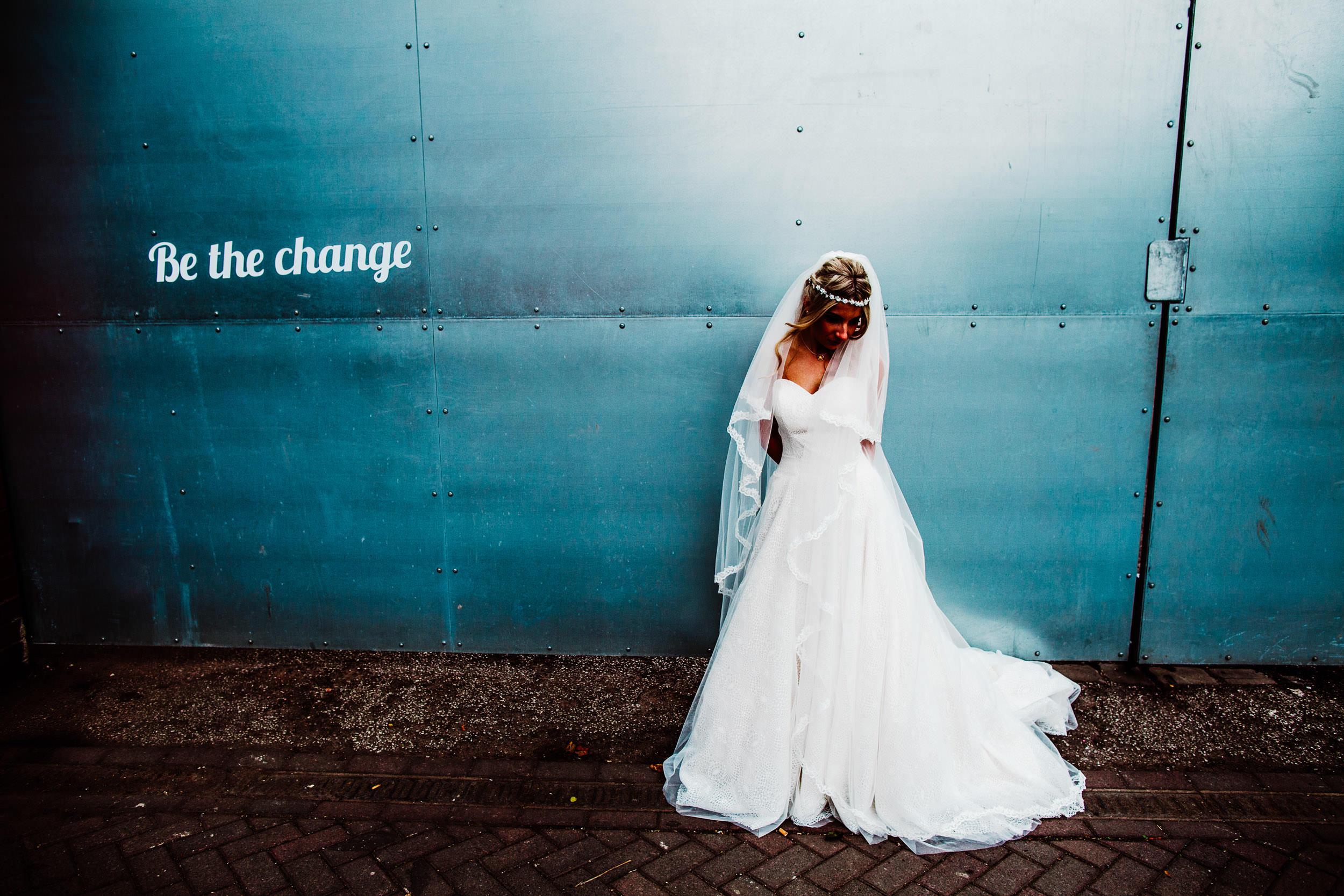 Victoria Warehouse Wedding - Manchester - A+C
