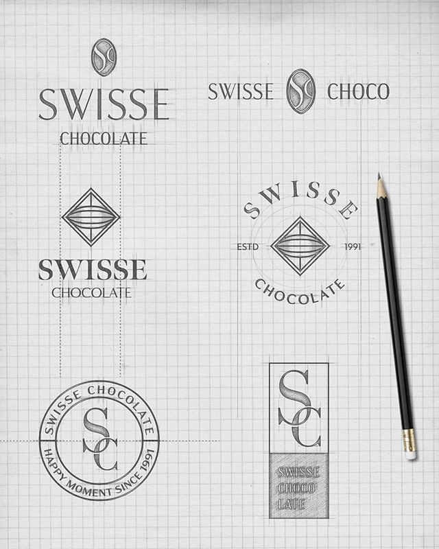Let's say if you own a Swiss chocolate brand, which logo will you go for? First, second or third?  Let me know what do you think.🌝 - - - - - - - - - - - #graphicdesign #freelancegraphicdesigner #brandingdesign #brandidentity #moodboard #designprocess #logodesign #logodesigners #visualdesign #visualidentity #brandingstudio #customlogo  #design #graphicart #vectorart #designspiration #thedesigntip #TKDpeepshow #chocolatebranding #branding