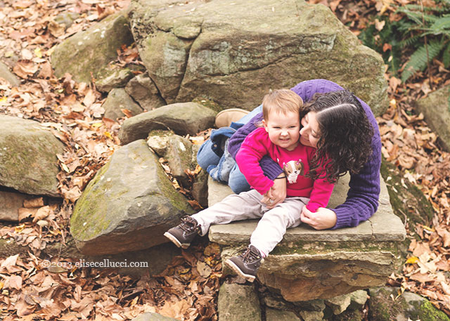 mom and daughter fun portrait ridley creek state parkfamily fun session