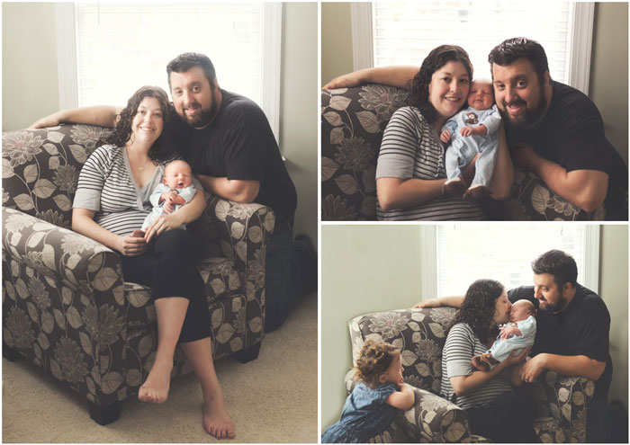 mom dad bouncing baby boy | media pa newborn photography