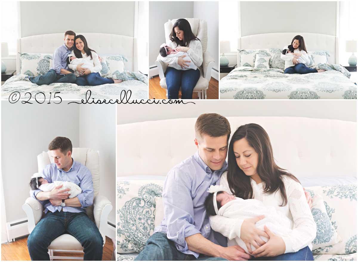 sweet baby girl bliss | blue bell pa newborn photography