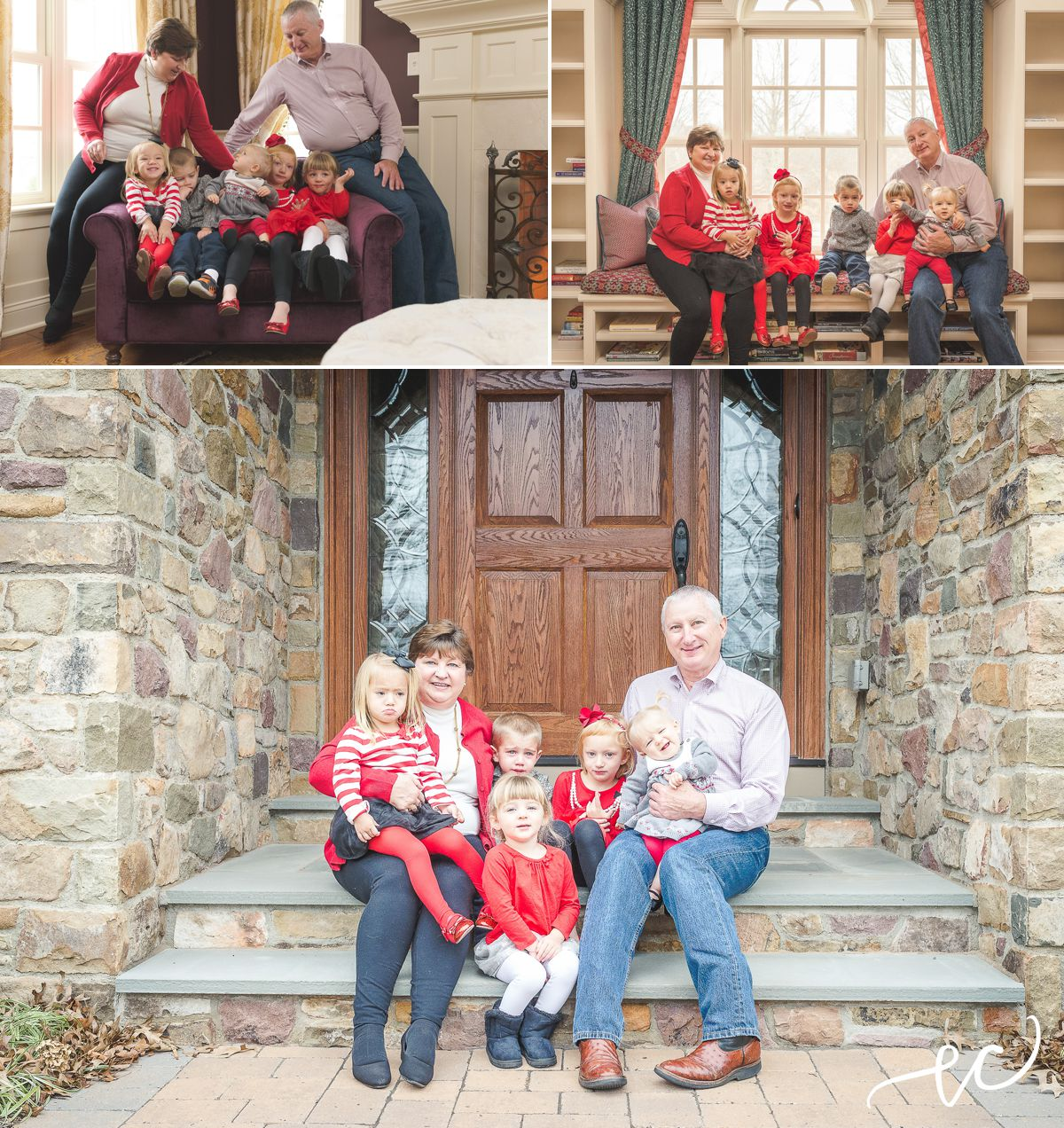 family holiday session   worcester pa photographer