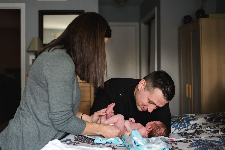 new parents | newborn photographer north wales pa
