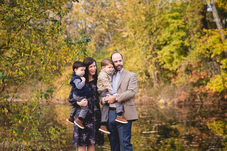 fischer park in towamencin family session