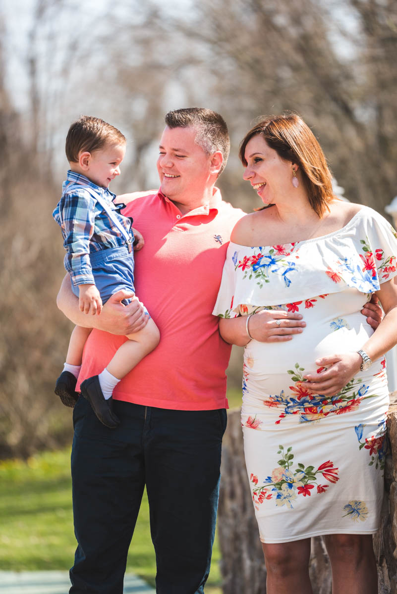 family portrait bell maternity photography