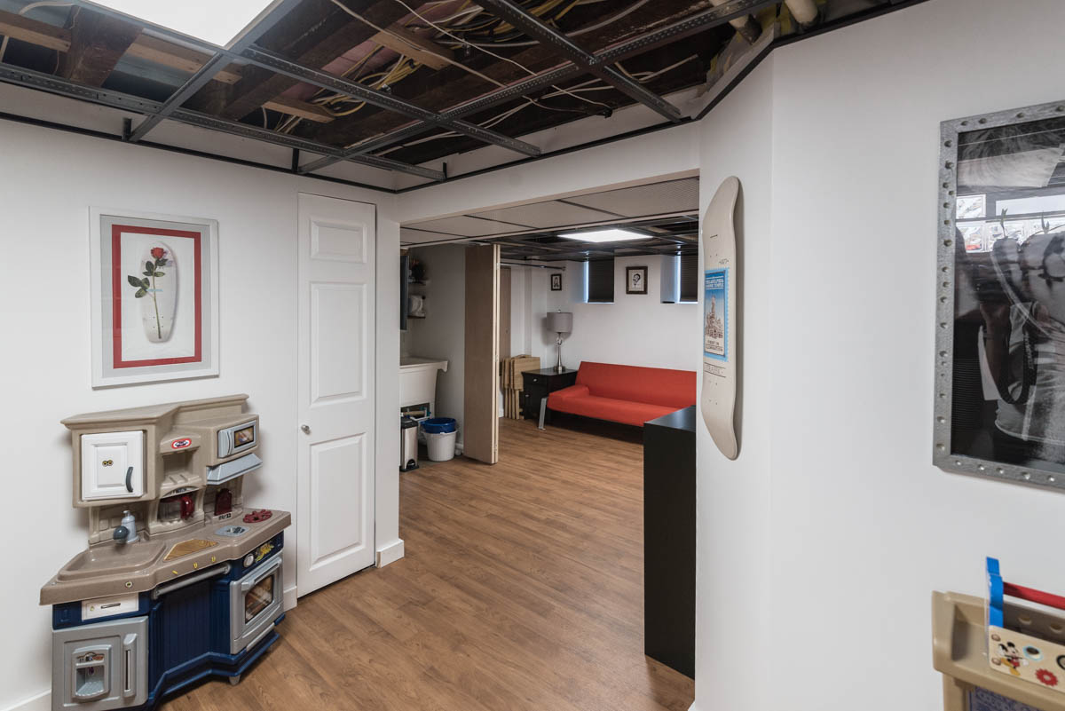 Philadelphia new listing | real estate photography basement