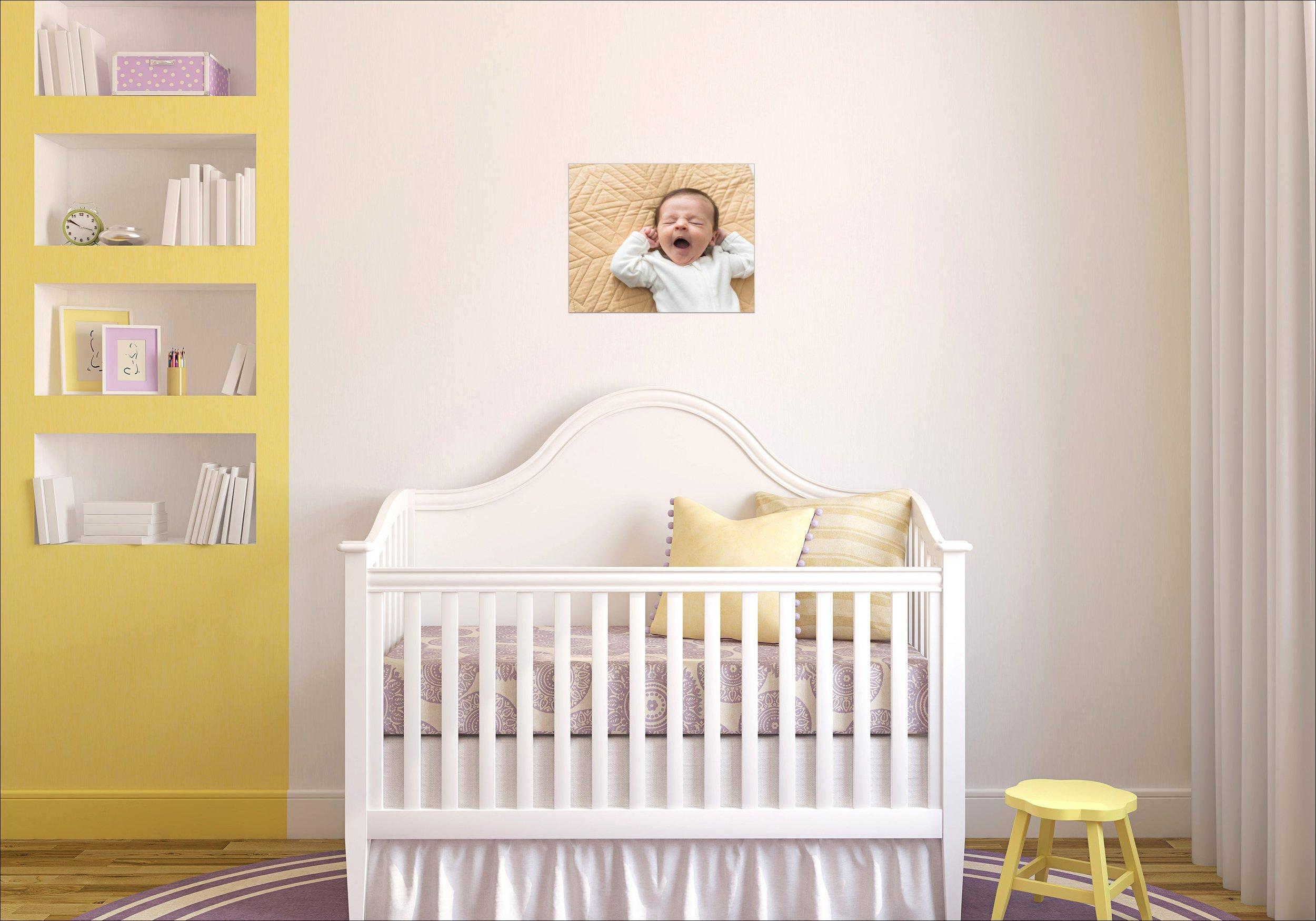 newborn wall display | Montgomery County pa photographer