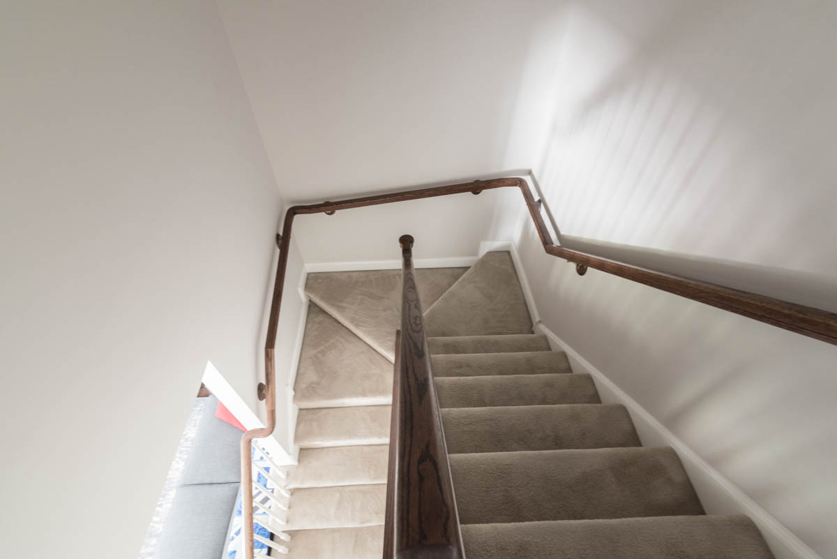 north Wales real estate photographer stairs