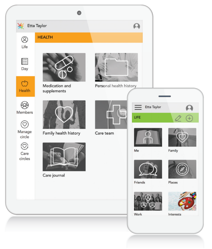 MemorySparx Connect is a web-based platform that can be used on any computer, tablet, laptop or phone