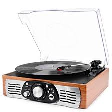 Old Fashioned Record Player (with MP3 and USB input)