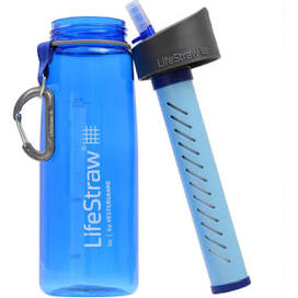 LifeStraw Integrated Filter Water Bottle