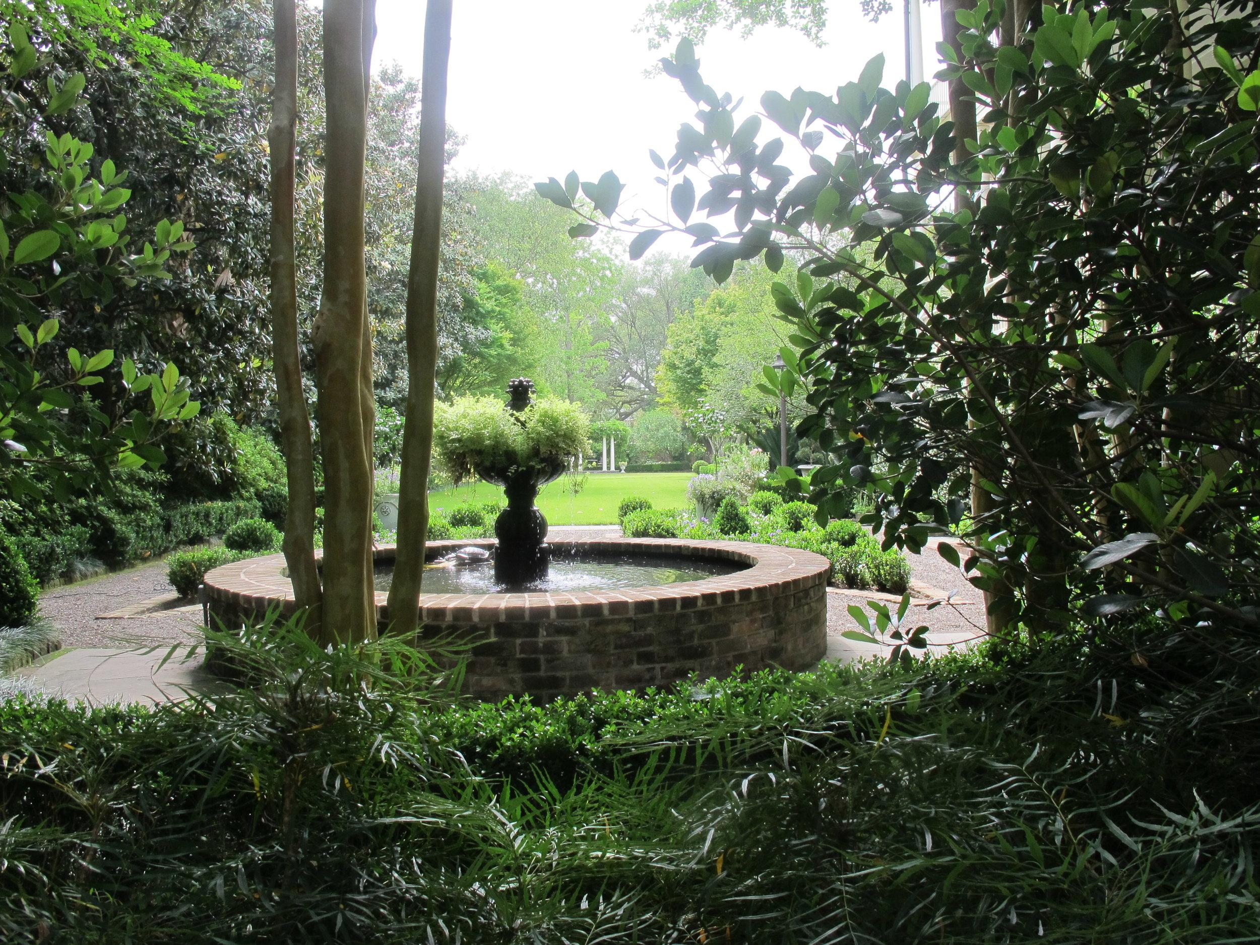 Hidden gardens everywhere