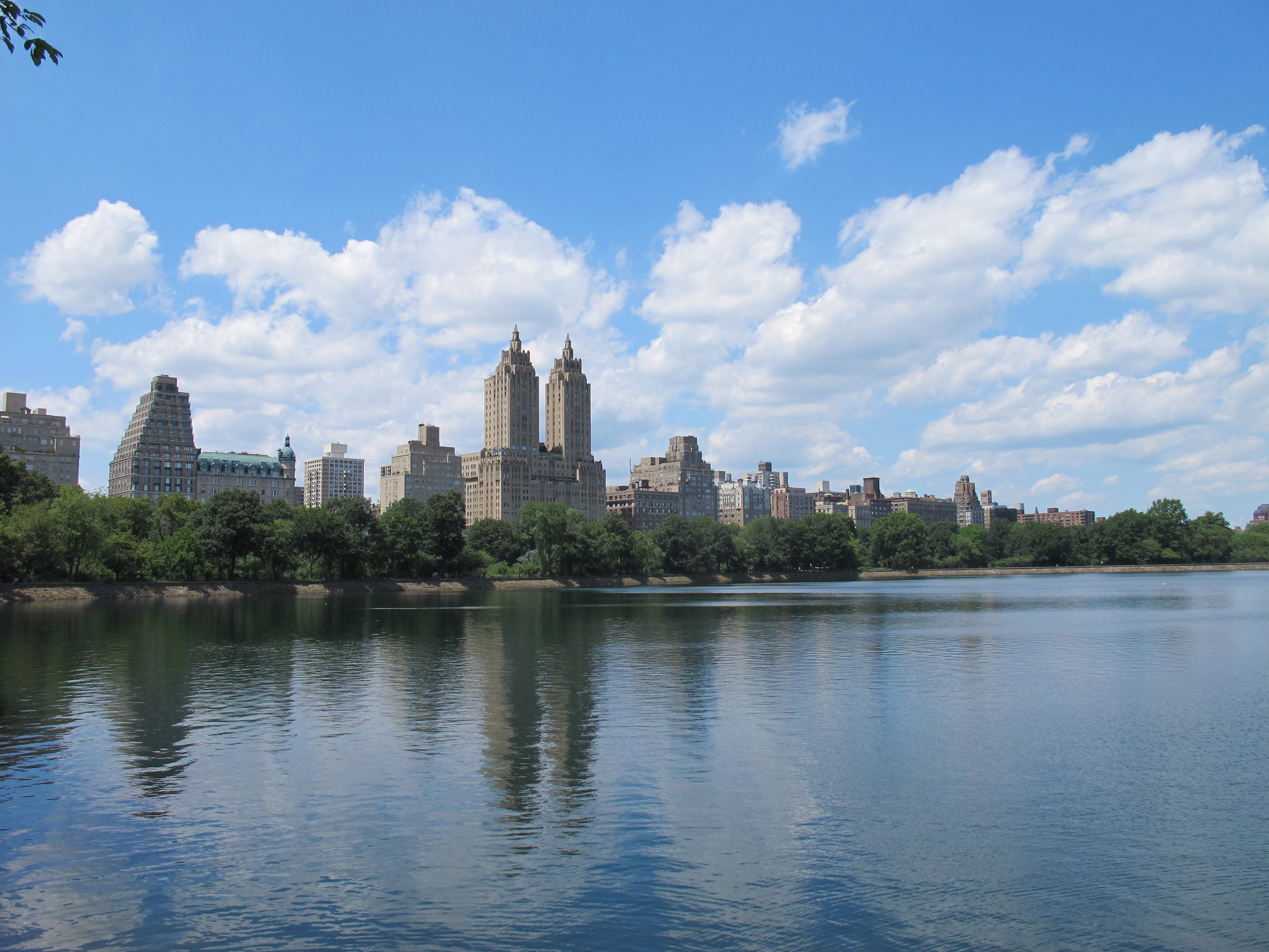 Jackie Kennedy Onassis Reservoir in Central Park