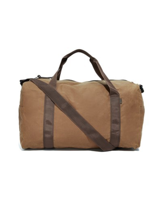 Filson Duffle - When taking a shorter trip and looking to avoid the baggage fees or just driving to the beach or mountains for the weekend, this is a vital belonging. All of Filson's products are high quality and very masculine in nature which I love. It's the manly weekend bag for sure. Also, water repellent and Made in the USA!