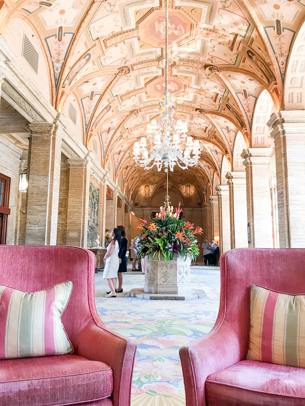 The Lobby of The Breakers