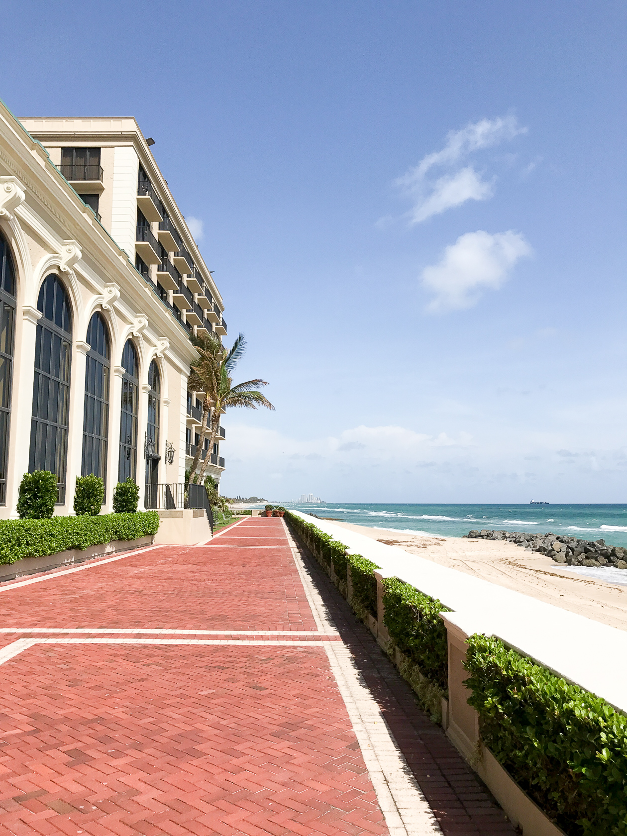 Back Patio at The Breakers