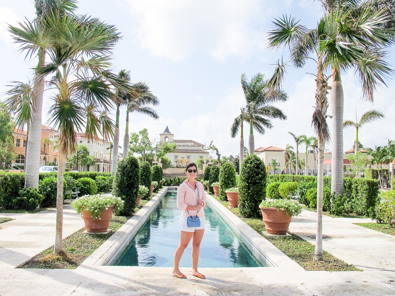 Palm Beach's main square