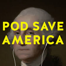 Pod Save America - Part of a new media company from the young staff of Obama's administration, it's political commentary with a young moderately liberal slant from those who have been in the thick of it. I laugh, feel inspired, and cringe every episode. Being Obama's former speech writers and policy experts, there is no shortage of intellect between these 30-something men and I truly enjoy learning a lot of the back story of current events in the news. Episodes: Any of the most recent episodes as they stick to news stories of that day.