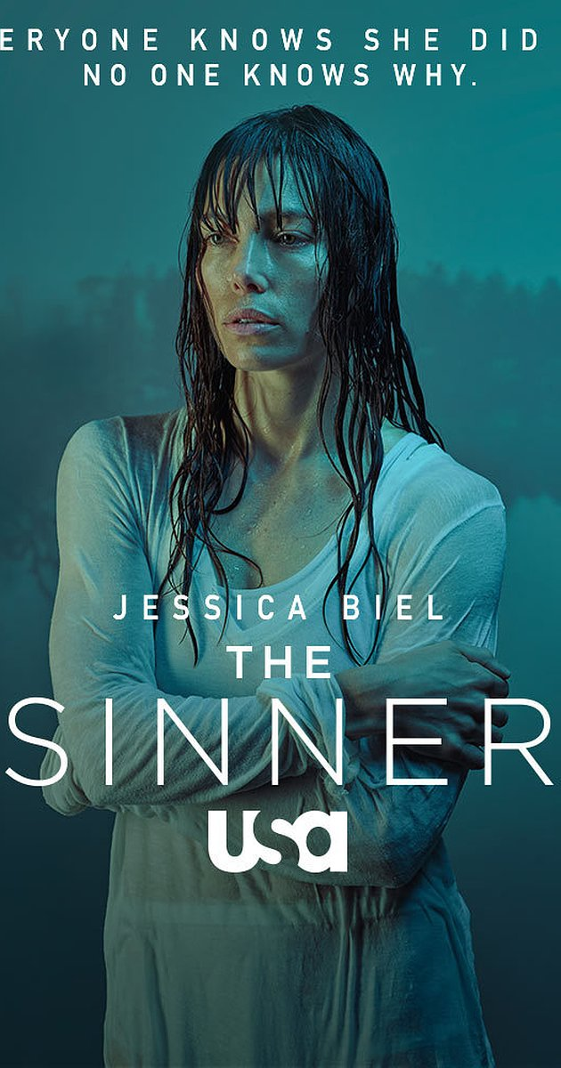 The Sinner - This dark, crime drama is a mini-series and terrifying! It's not horror but more psychological. Jessica Biel plays a mother in wife who in the first episode has an unexpected manic episode on a crowded beach where she ends up stabbing a bystander to death. The detective on the case gets to the bottom of why she snapped and you also get flashbacks into her upbringing and the events that led to the trauma she endured that triggered the murder she committed. It's very good if you like crime dramas!Watch on USA!
