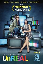 Unreal - Season 3 of Unreal premiere's Feb 26 and I can't wait! Season 1 and 2 were phenomenal. If you have ever watched The Bachelor- or even not!- I think you'll enjoy this show. It's a scripted show about what goes on behinds the scenes of a