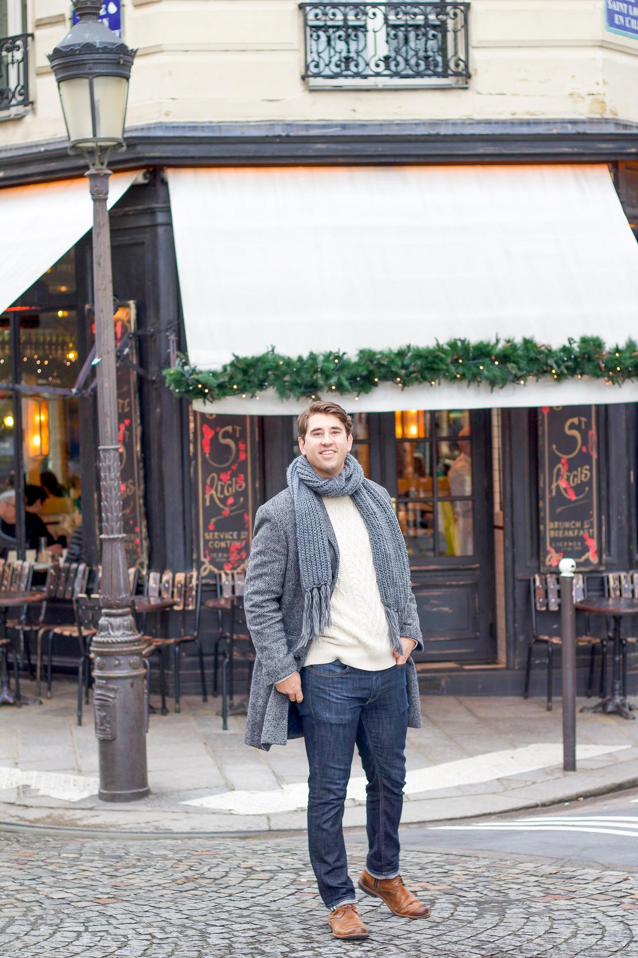 Cafe St. Regis on I'le Saint-Louis