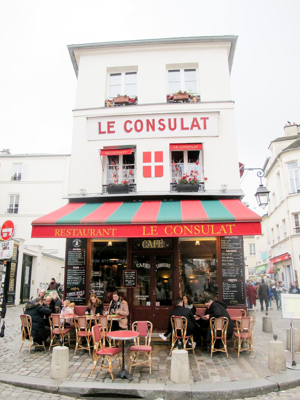 Instagram-famous spot in Montmarte