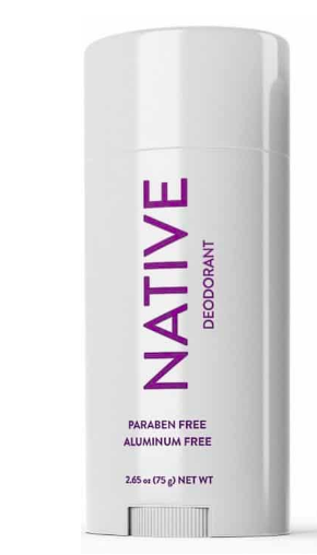 Native Deodorant - Austin's mom got me hooked on this organic deodorant. Obviously, every body is different but this really works for me and I'll never go back. My favorite scent is Lavender & Rose. So fancy.