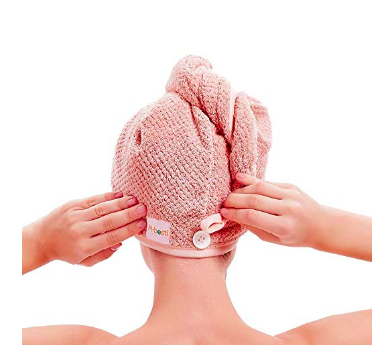 Microfiber Towel - Buying a thin microfiber towel to dry my hair has cut down on the frizz and damage. I naturally have fine hair that's pretty healthy, but this has helped in the air drying process to keep my strands hydrated and getting as roughed up by the weight of a full towel.