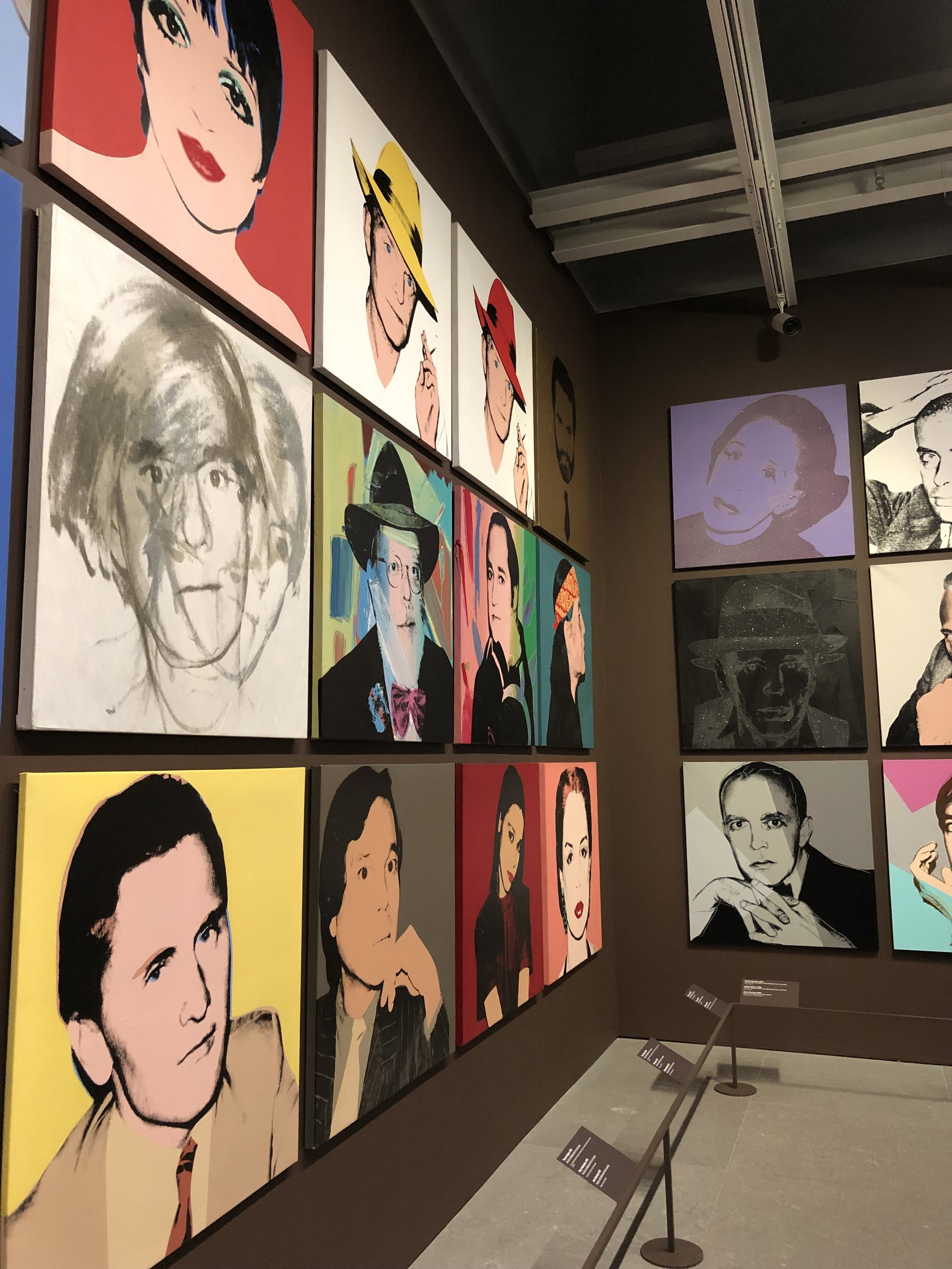 Visiting The Whitney for the Andy Warhol exhibit