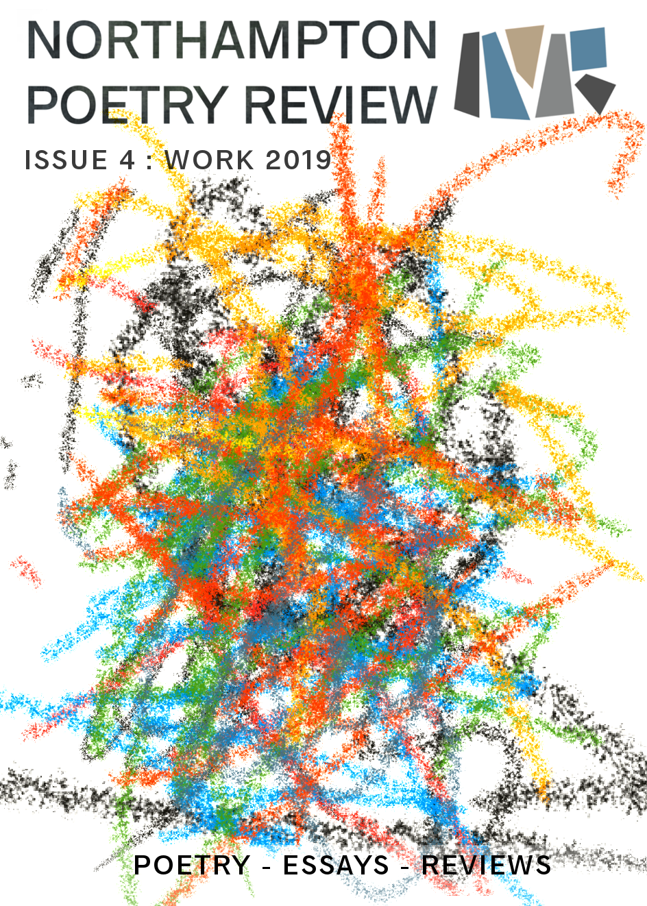 Download Northampton Poetry Review Issue 4: WORK 2019 [.PDF] by clicking on the cover image.  Or read via issuu below