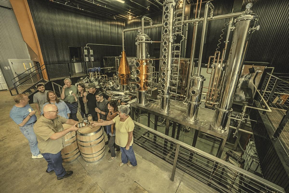 Distillery Tour -