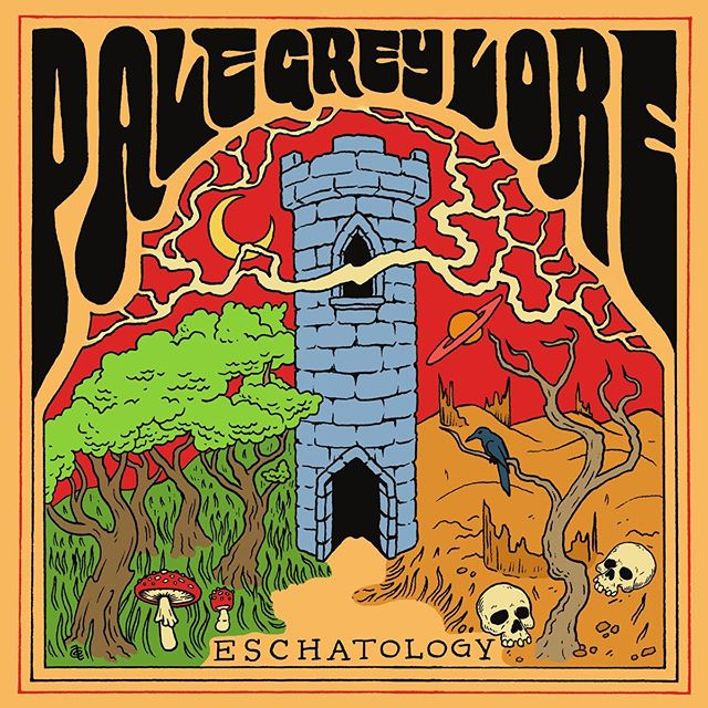 I had the opportunity to hear @palegreylore's upcoming album Eschatology and chat with them about it. Click the link in the bio to read all about it, and be sure to give it a listen this Friday 9/6!  #palegreylore #eschatology #columbusmusic #columbusmakesart #doommetal #stonermetal #psychrock #spacerock #fuzz