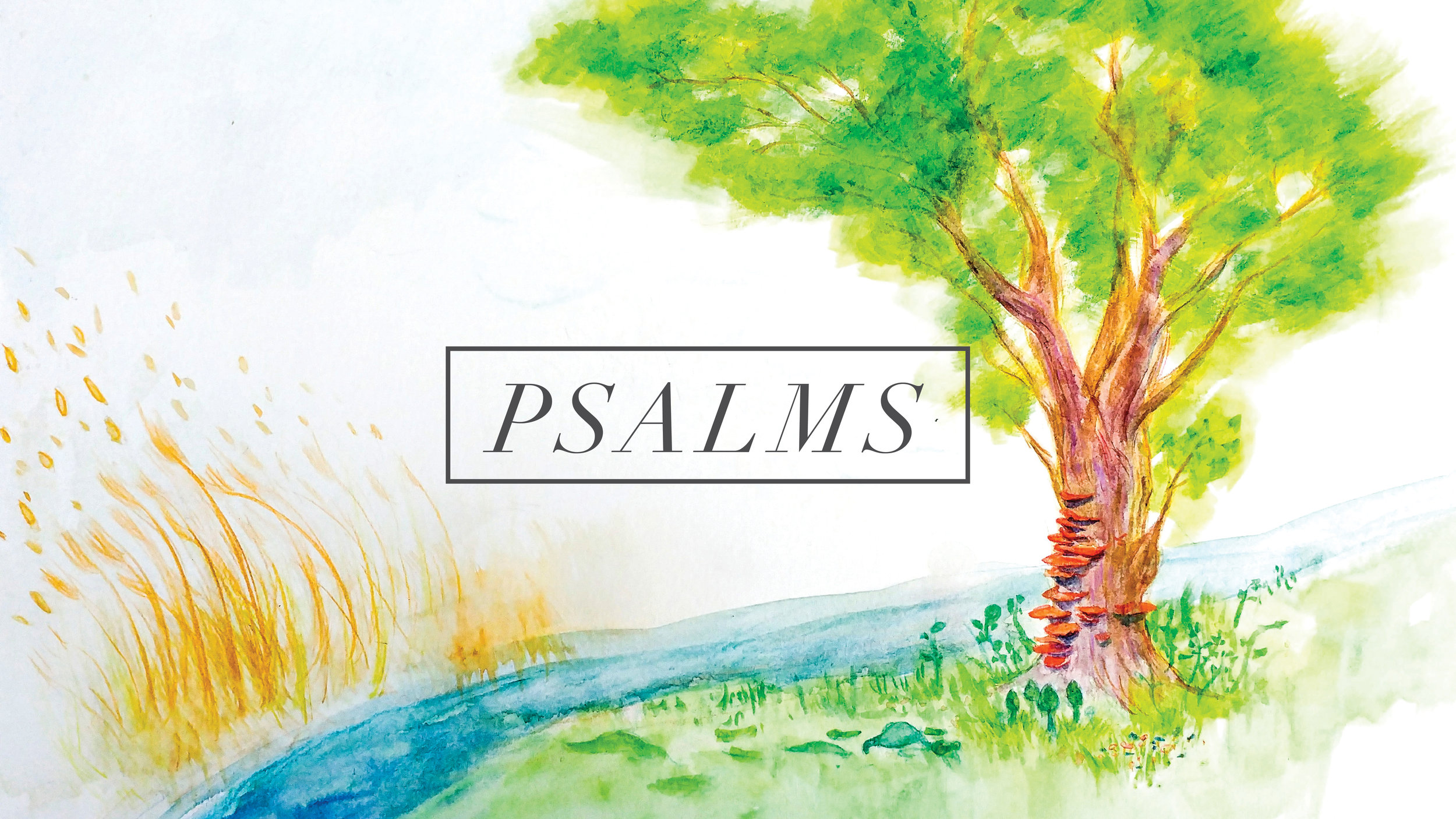 Psalms 1-10 - Summer 2018