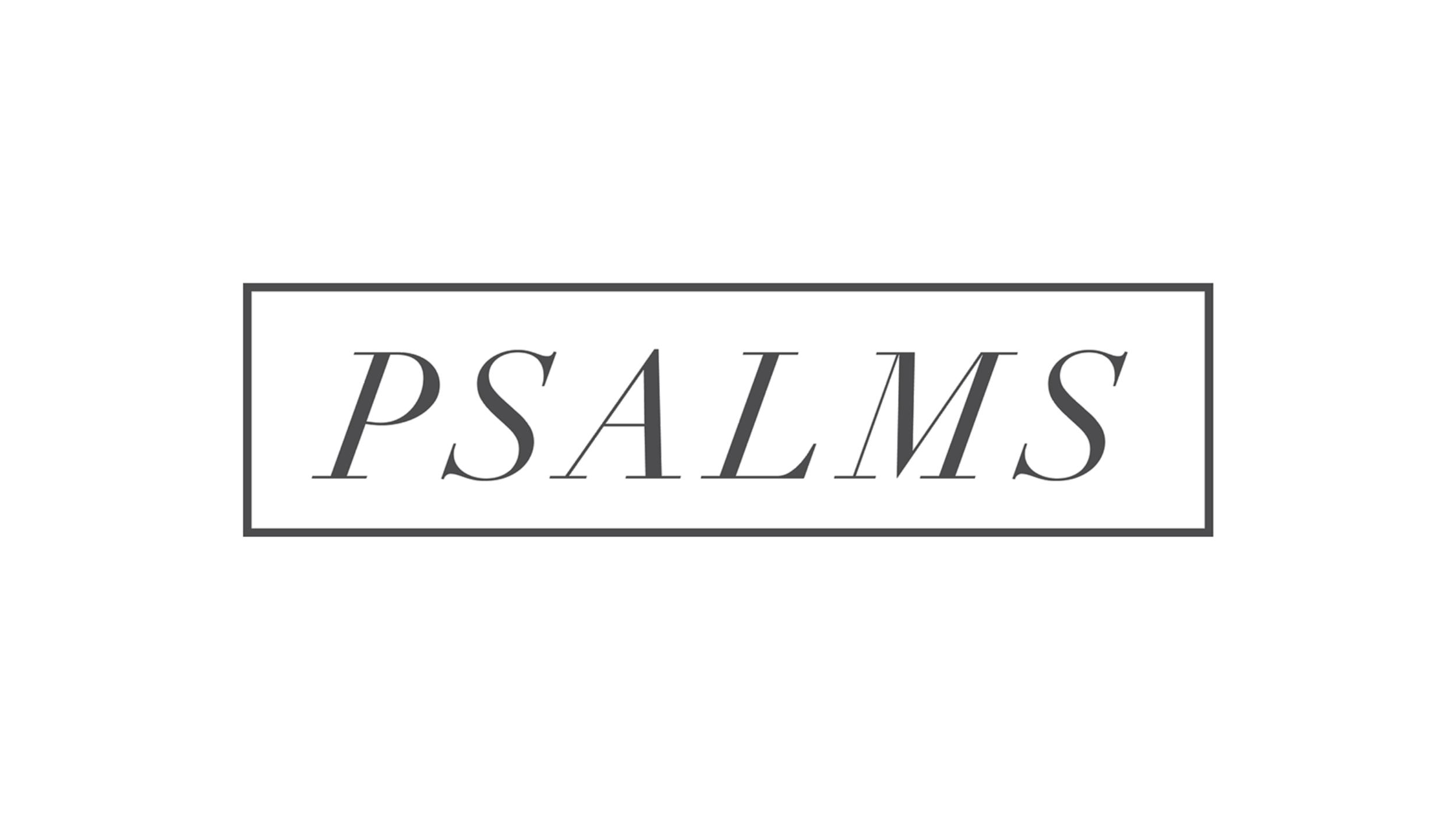 Psalm 11-20 - Summer 2019