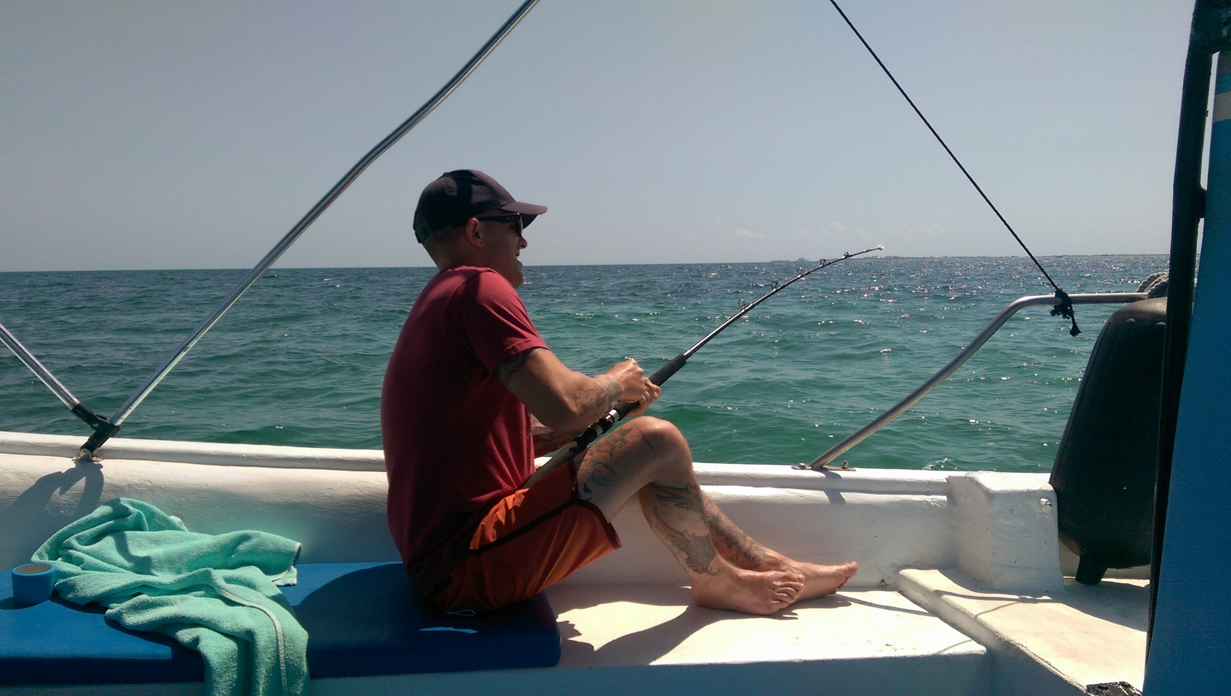 Doing some fishing in Mexico!