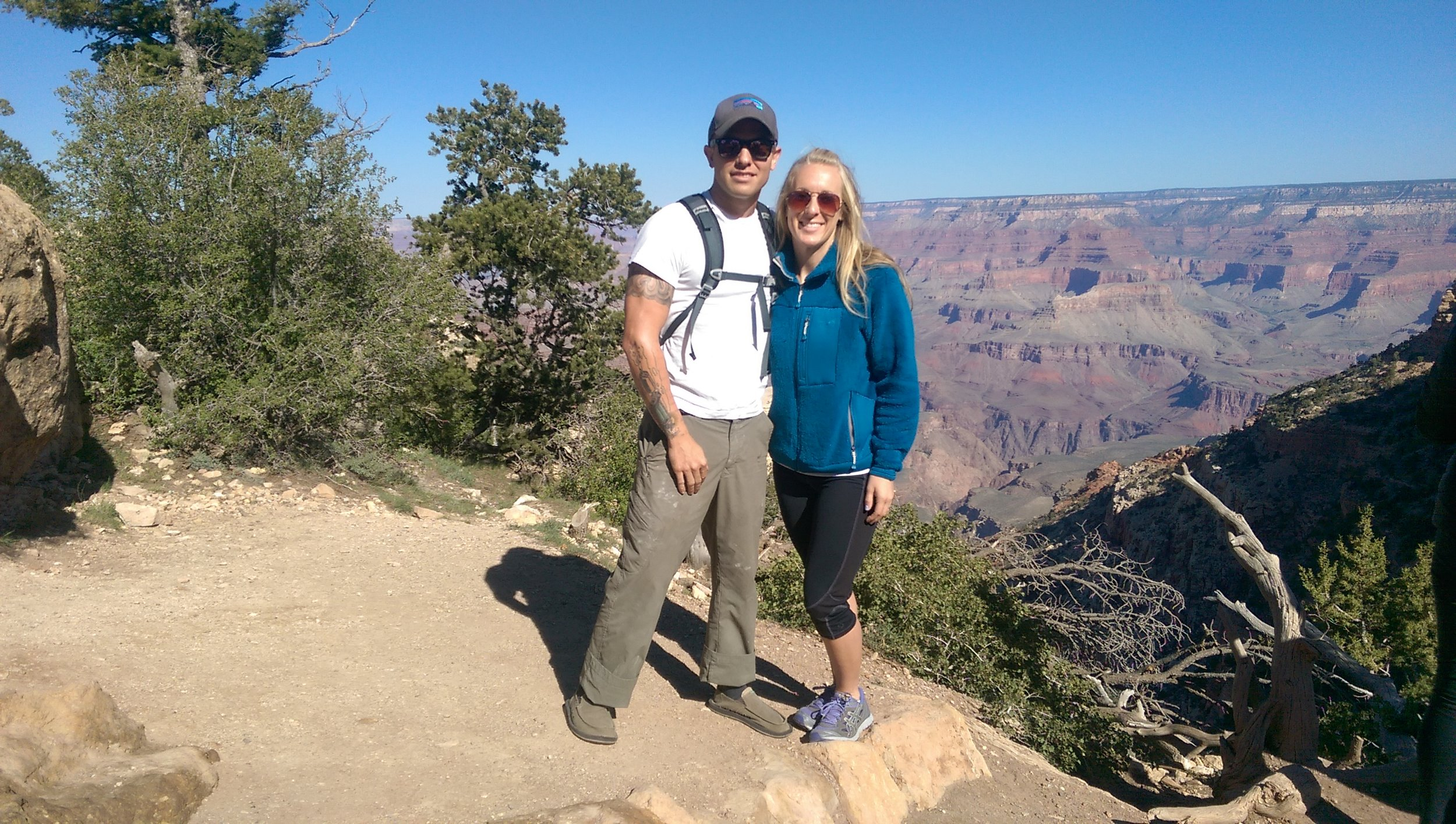 Liz and I at the Grand Canyon