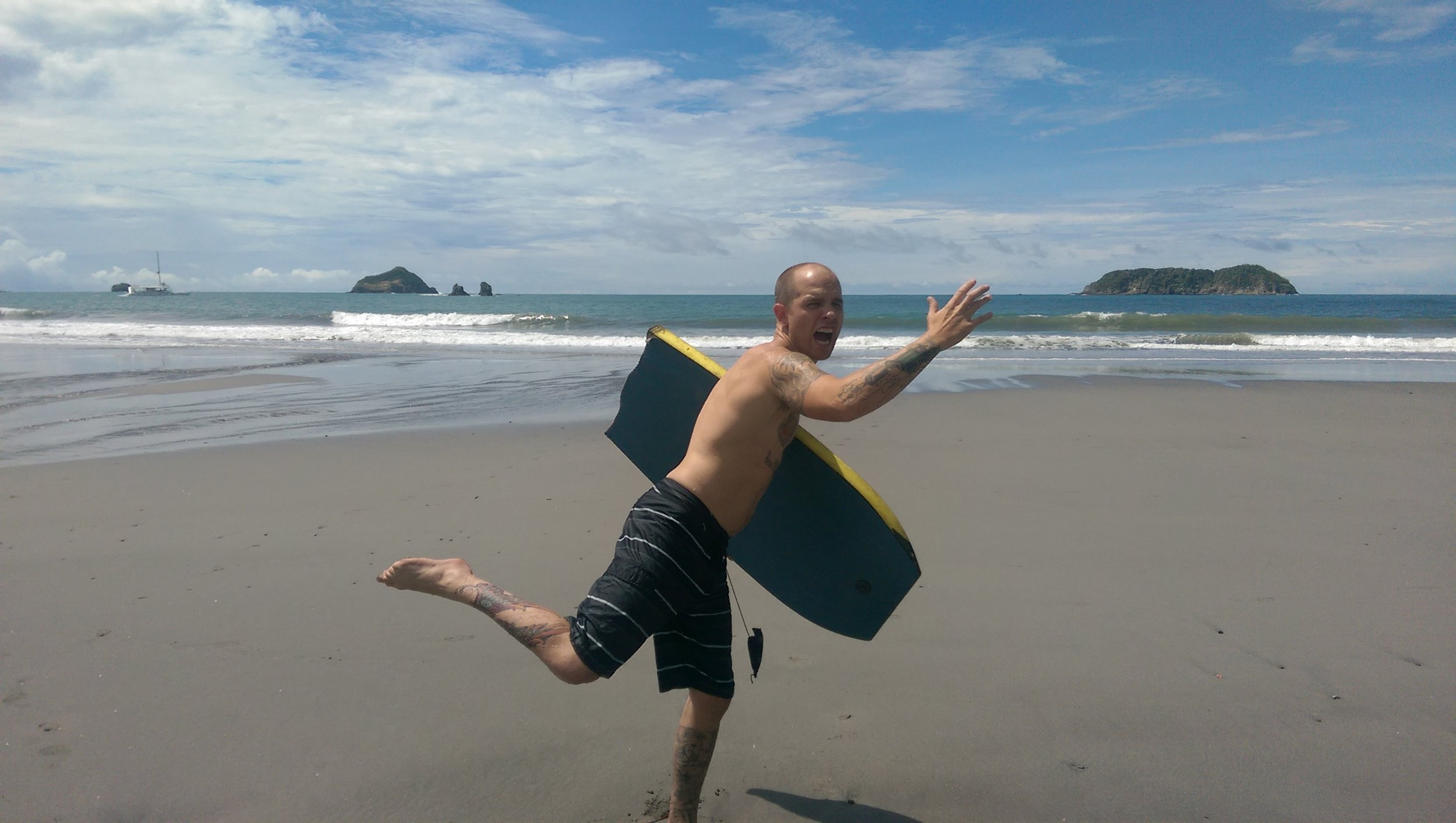 The beaches in Costa Rica... man, hard to beat!