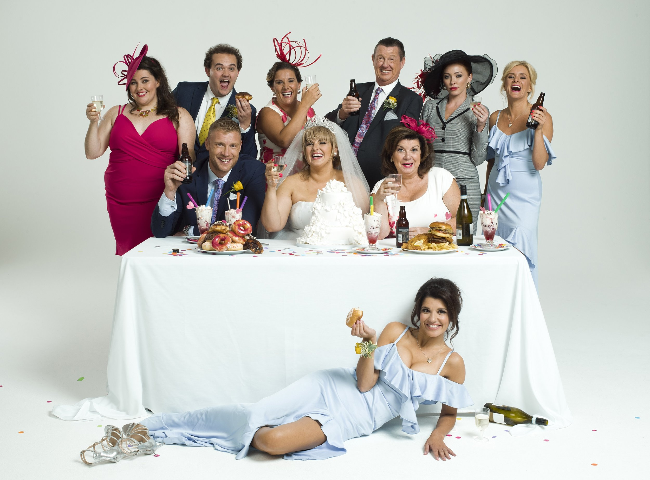 Full Company of Kay Mellor's Fat Friends the Musical. Photo by Jay Brooks..jpg