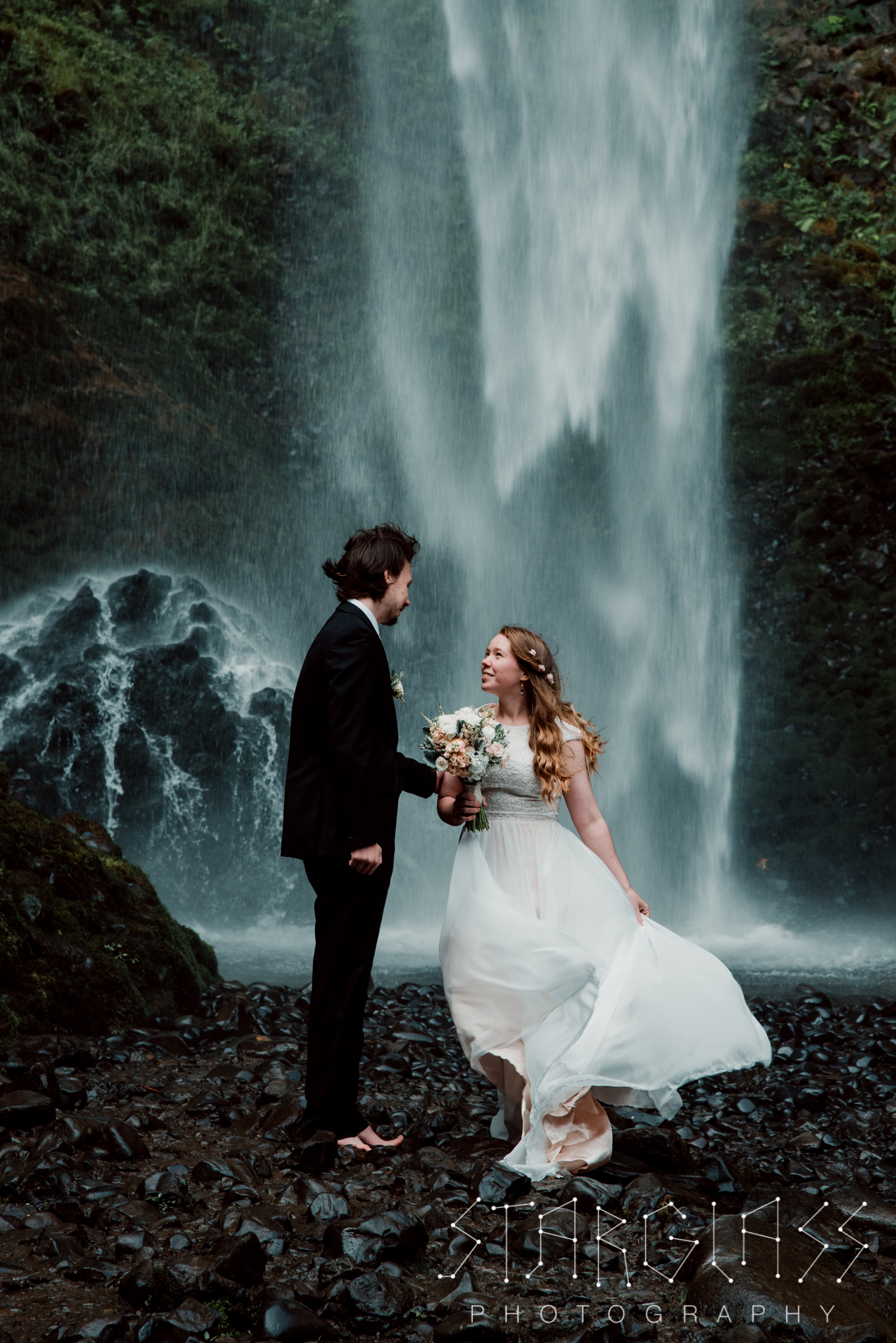 Portland Bride and Groom