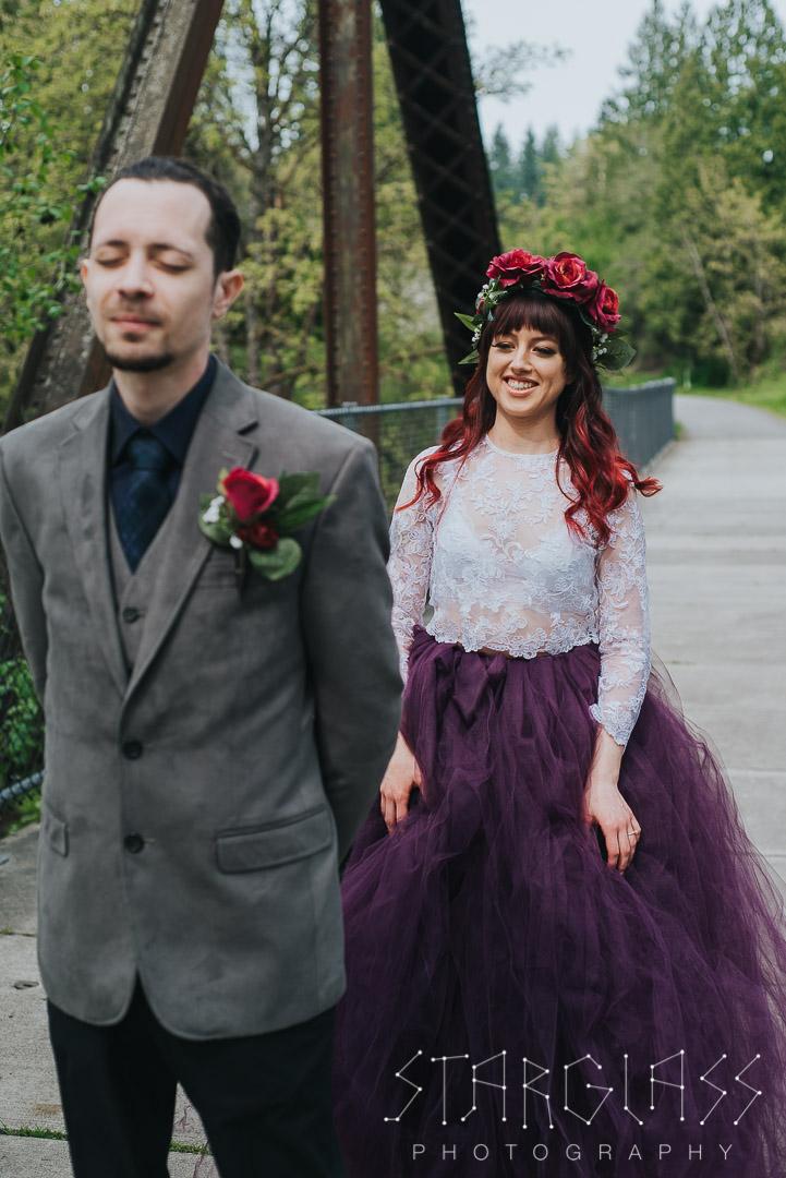 atlanta wedding first look
