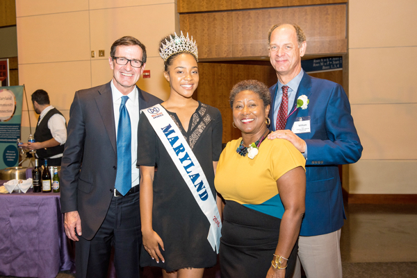 Pictured: Bruce McNamer, Terese Taylor, Desiree Griffin-Moore, Bill Shipp
